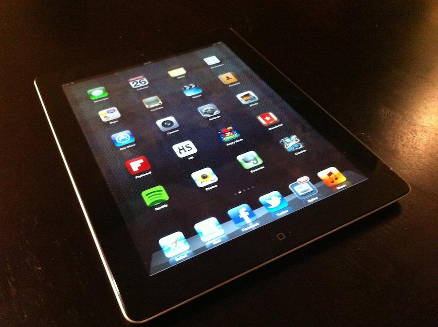 iPad 3rd generation 2012