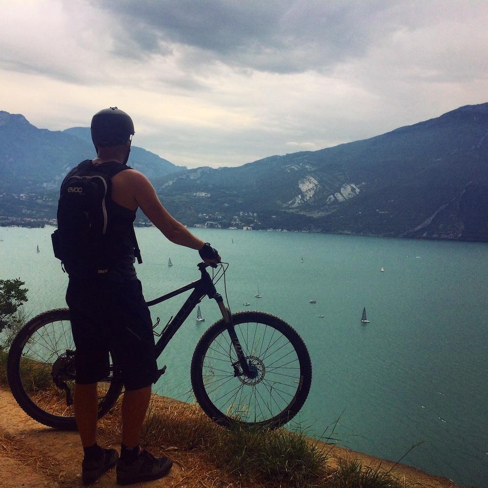 View over Lake Garda